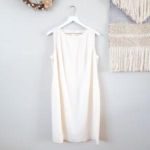 Louis Feraud Vintage - Cream Shift Dress
